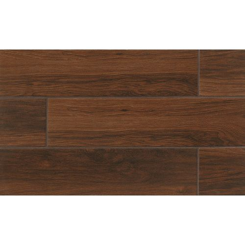 "Napa 6"" x 24"" Floor & Wall Tile in Chestnut"