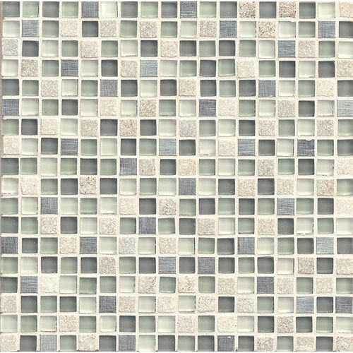 "Elume 5/8"" x 5/8"" Wall Mosaic in Heather Grey"