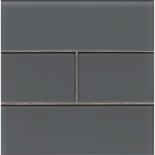 "Hamptons 4"" x 12"" Wall Tile in Pelican"