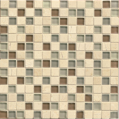 "Interlude 3/4"" x 3/4"" Wall Mosaic in Musette"