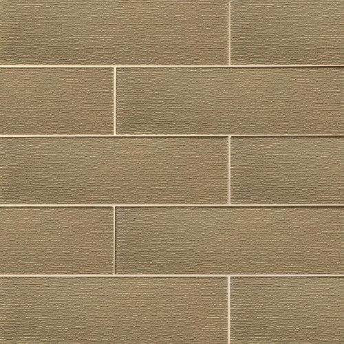 "Verve 6"" x 20"" Wall Tile in Golden Glimmer"