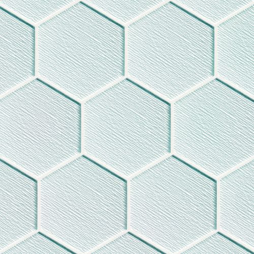 "Verve 4-7/8"" x 5-5/8"" Wall Mosaic in Ice Breaker"