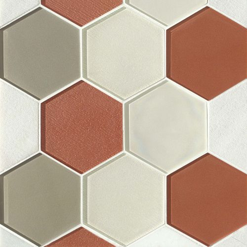 "Verve 4-7/8"" x 5-5/8"" Wall Mosaic in Knockout"
