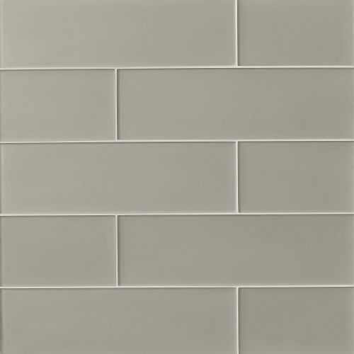 "Verve 6"" x 20"" Wall Tile in Tinsel Grey"