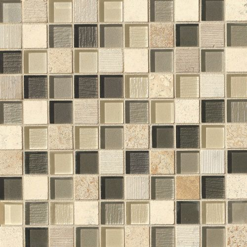 "Verve 1-1/8"" x 1-1/8"" Wall Mosaic in Valiant"