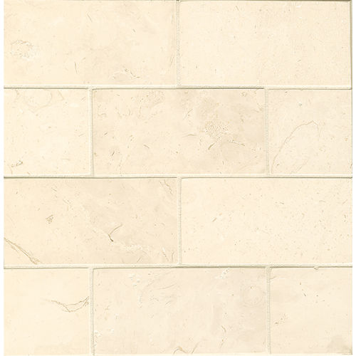 "Corinthian White 3"" x 6"" Floor & Wall Tile"