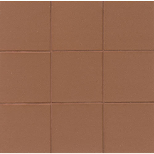 "Metropolitan 6"" x 6"" x 1/2"" Floor and Wall Tile in Auburn"