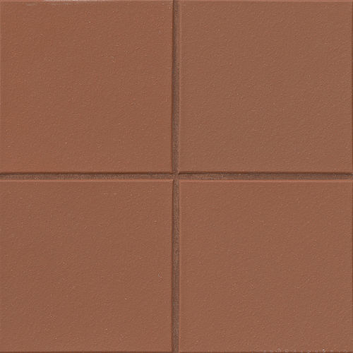 "Metropolitan 8"" x 8"" x 1/2"" Floor and Wall Tile in Mayflower Red"