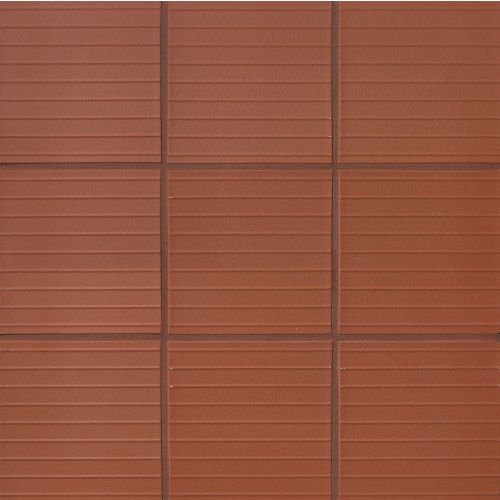 "Metropolitan 6"" x 6"" x 1/2"" Floor and Wall Tile in Commercial Red"