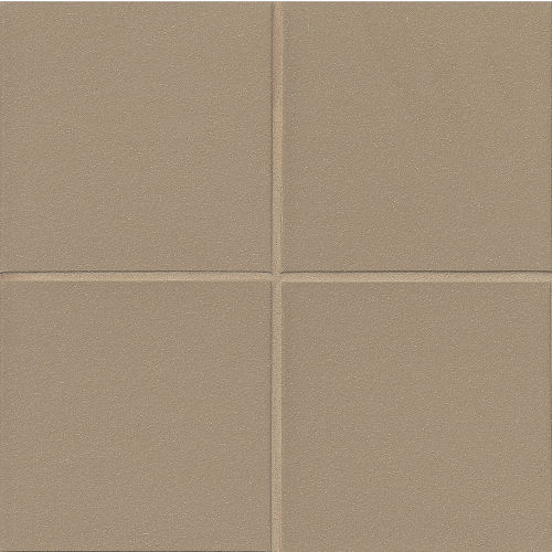 "Metropolitan 8"" x 8"" x 3/8"" Floor and Wall Tile in Plaza Gray"