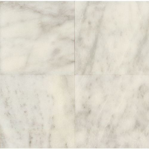 "Lydia White 24"" x 24"" Floor & Wall Tile"