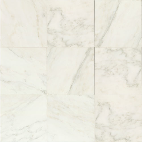 "Oriental White 18"" x 18"" Floor & Wall Tile"