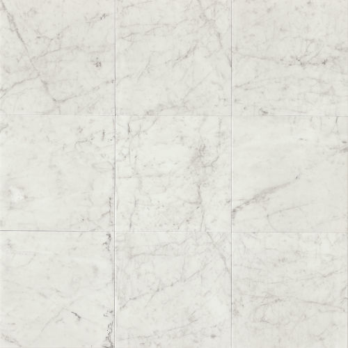"White Carrara 12"" x 12"" Floor & Wall Tile"