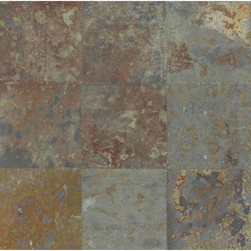 "Brazilian Multicolor 16"" x 16"" Floor & Wall Tile"
