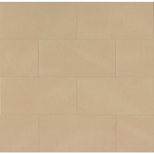 "Area 3D 12"" x 24"" Floor & Wall Tile in Bone"