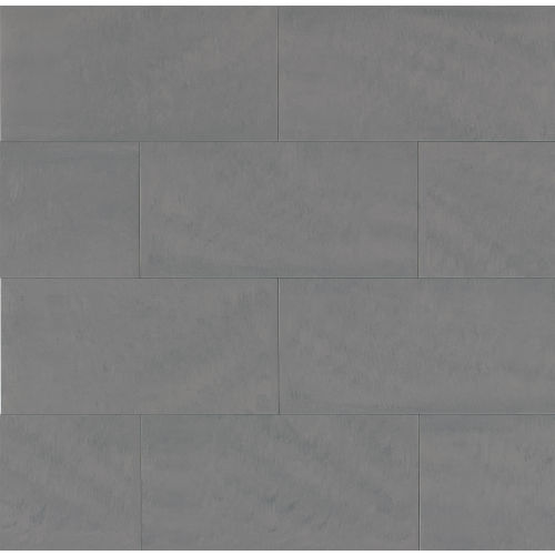 "Area 3D 12"" x 24"" Floor & Wall Tile in Grey"