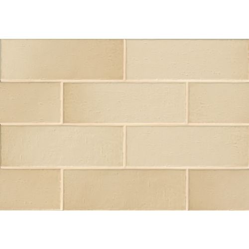 "Aura 4"" x 12"" Wall Tile in Shell"