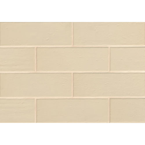"Aura 4"" x 12"" x 3/8"" Wall Tile in Shell"
