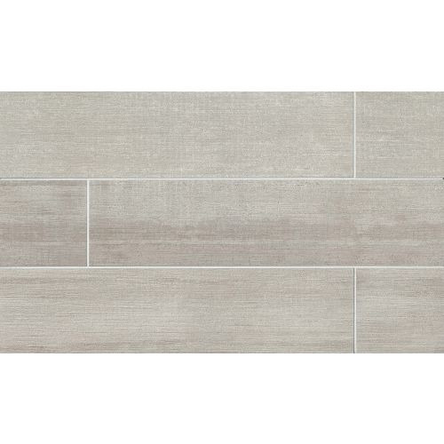 "City 2.0 24"" x 48"" x 3/8"" Floor and Wall Tile in Cement"