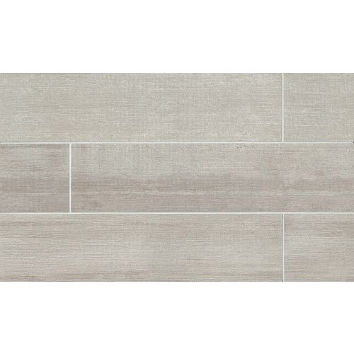 "City 2.0 8"" x 48"" Floor & Wall Tile in Cement"