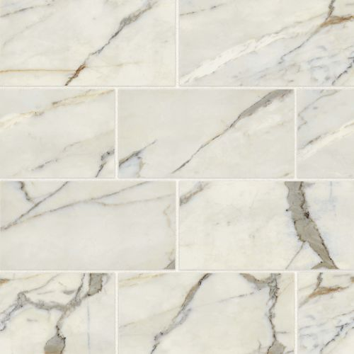 "Classic 2.0 12"" x 24"" Floor & Wall Tile in Calacatta Oro"