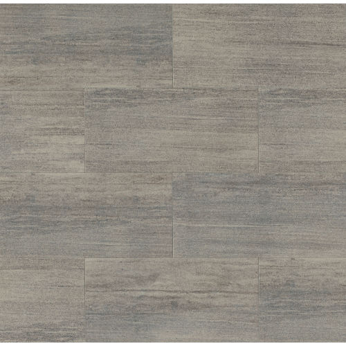 "Materia 3D 12"" x 24"" Floor & Wall Tile in Heather Grey"