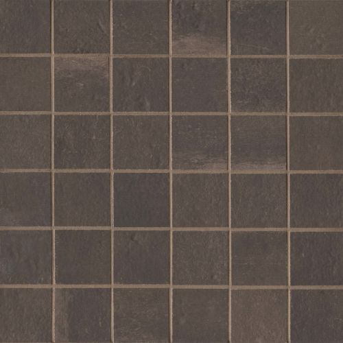 "Palazzo 2"" x 2"" Floor & Wall Mosaic in Antique Cotto"