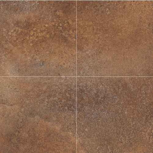 "Plane 30"" x 30"" Floor & Wall Tile in Copper Chrome"