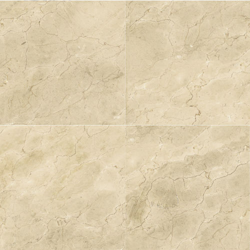 "Plane 30"" x 30"" Floor & Wall Tile in Marfil  Vena"