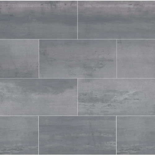 "Plane 15"" x 30"" Floor & Wall Tile in Silver Chrome"