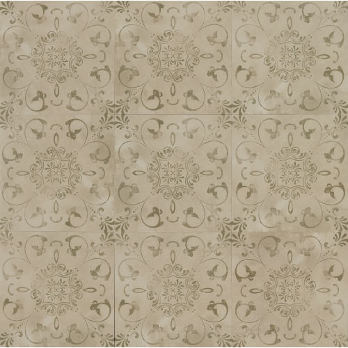 "Cemento 24"" x 24"" Decorative Tile in Baler"
