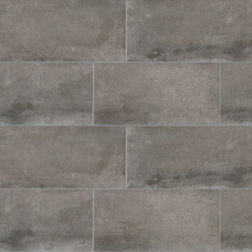 "Clive 12"" x 24"" Floor & Wall Tile in Nero"