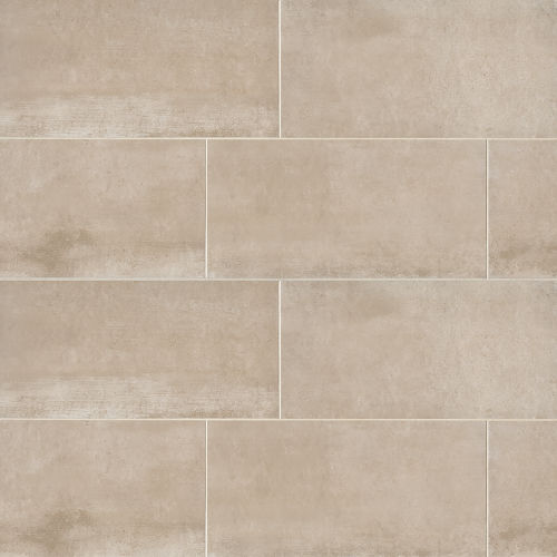 "Clive 24"" x 48"" Floor & Wall Tile in Beige"