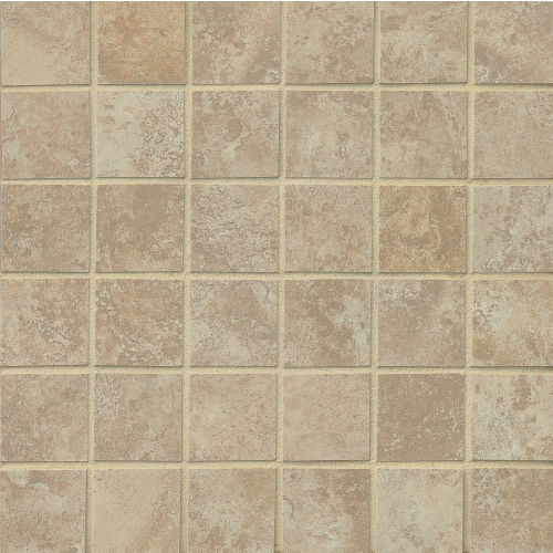 "Fantasia 2"" x 2"" Floor and Wall Mosaic in Almond"