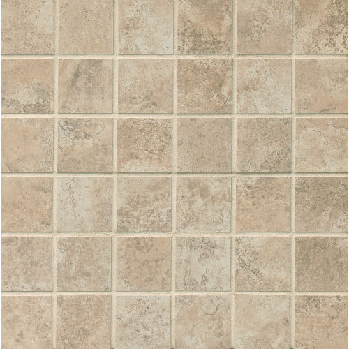 "Fantasia 2"" x 2"" Floor & Wall Mosaic in Beige"