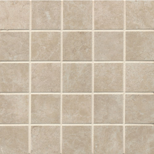 "Indiana Stone 2"" x 2"" Floor & Wall Mosaic in Almond"