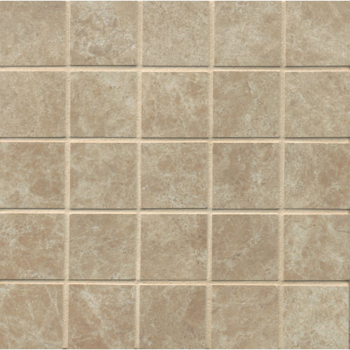 "Indiana Stone 2"" x 2"" Floor & Wall Mosaic in Noce"