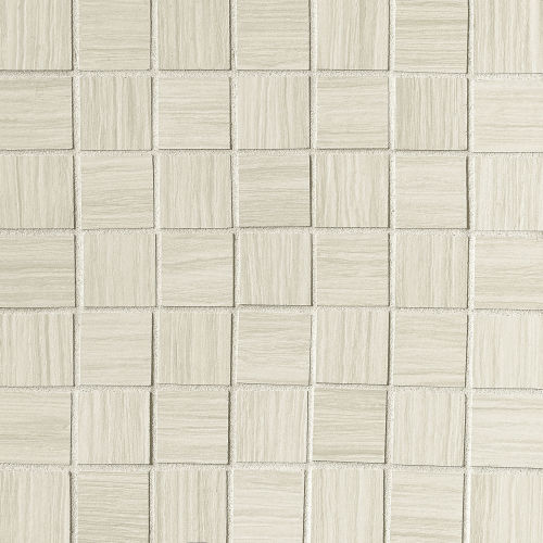 "Islands 1-1/2"" x 1-1/2"" Floor & Wall Mosaic in White"
