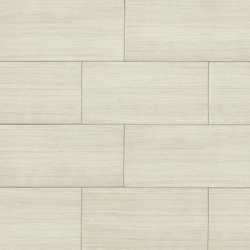 "Islands 12"" x 24"" Floor & Wall Tile in White"