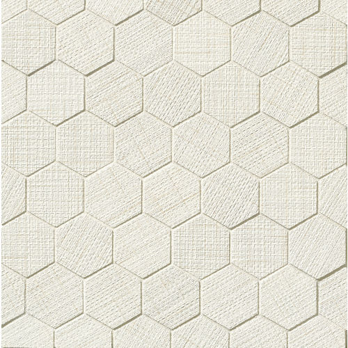"Lido 2"" x 2"" Floor & Wall Mosaic in White"