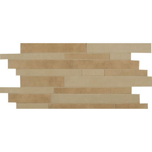 Metro Plus Floor & Wall Mosaic in Coco Rum / City Slicker