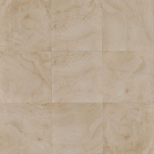 "Onyx 20"" x 20"" Floor & Wall Tile in Almond"
