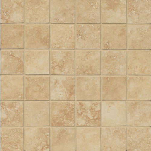 "Roma 2"" x 2"" Floor & Wall Mosaic in Camel"
