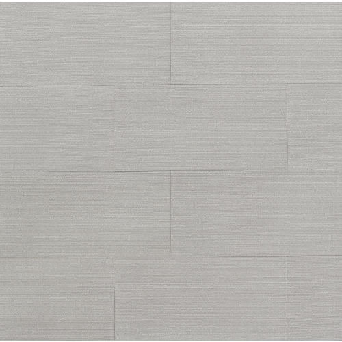 "Strands 12"" x 24"" Floor & Wall Tile in Silver"