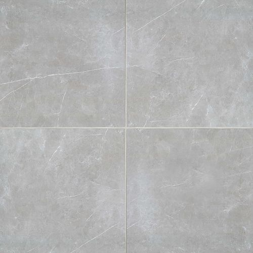 "Troy 24"" x 24"" Floor & Wall Tile in Silver"