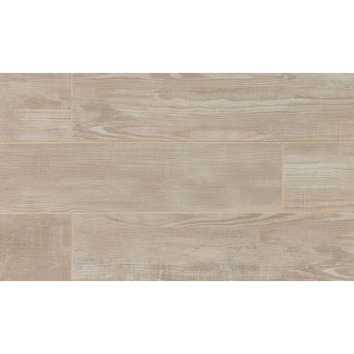 "Bayou Country 8"" x 24"" x 3/8"" Floor and Wall Tile in Gray"