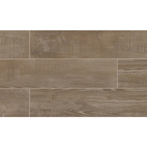 "Bayou Country 8"" x 24"" Floor & Wall Tile in Taupe"