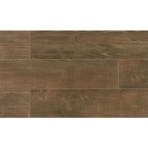 "Bayou Country 8"" x 24"" Floor & Wall Tile in Walnut"