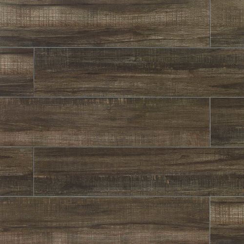 "Forest 8"" x 48"" Floor & Wall Tile in Black"