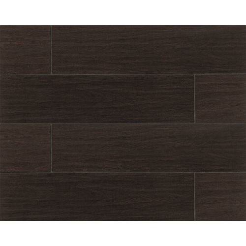 "Heathland Collection 6"" x 24"" Floor & Wall Tile in Nero"